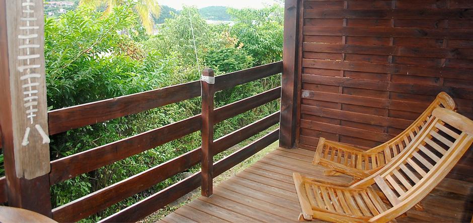 La terrasse zen pour vous détendre en scrutant l'horizon